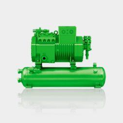 Compressor Semi-herméticos com coletor de líquido