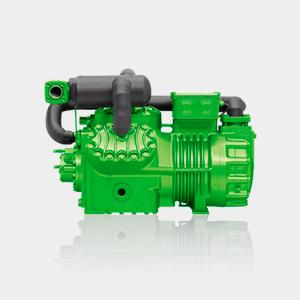 Compressor Semi-herméticos Duplo Estágio bifásico